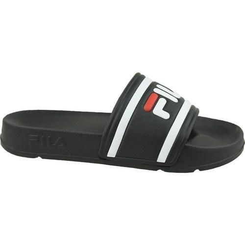 Boty Ženy pantofle Fila Morro Bay Slipper 20 Wmn Bílé, Černé