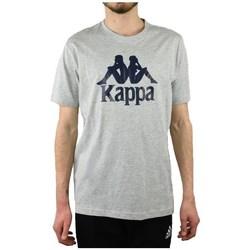 Textil Muži Trička s krátkým rukávem Kappa Caspar Tshirt Šedé