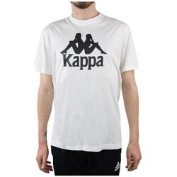 Textil Muži Trička s krátkým rukávem Kappa Caspar Tshirt Bílé