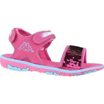Boty Děti Sandály Kappa Seaqueen K Růžové