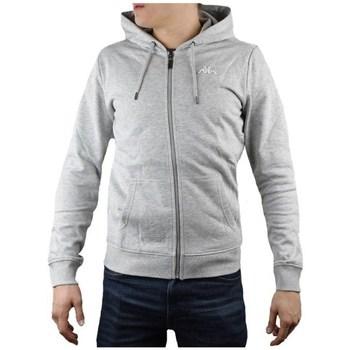Textil Muži Mikiny Kappa Veil Hooded Šedé