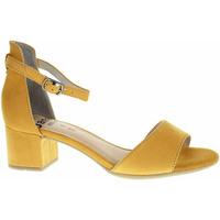Boty Ženy Sandály Jana Dámské sandály  8-28314-24 saffron Žlutá