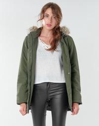 Textil Ženy Parky JDY JDYSTAR Khaki