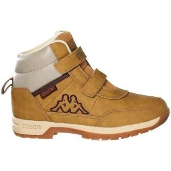 Boty Děti Kotníkové boty Kappa Bright Mid K Medové,Béžové