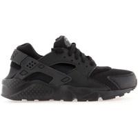 Boty Chlapecké Běžecké / Krosové boty Nike Huarache Run GS Černé