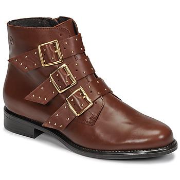 Boty Ženy Kotníkové boty Betty London LYS Velbloudí hnědá