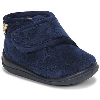 Boty Chlapecké Papuče Citrouille et Compagnie HALI Tmavě modrá