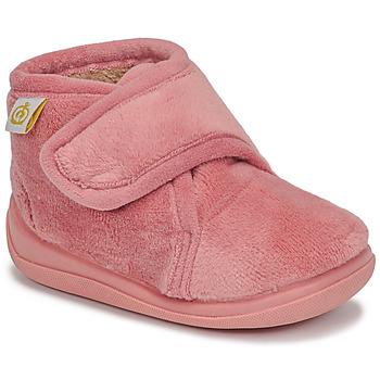 Boty Dívčí Papuče Citrouille et Compagnie HALI Růžová
