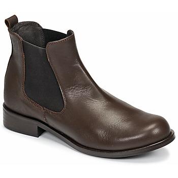 Boty Ženy Kotníkové boty So Size NITINE Hnědá