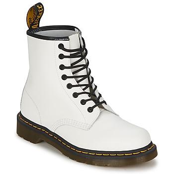 Dr Martens Kotníkové boty 1460 - Bílá
