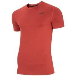 Textil Muži Trička s krátkým rukávem 4F NOSH4TSMF00362M Červené