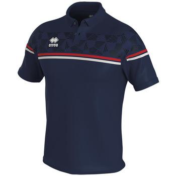 Textil Polo s krátkými rukávy Errea Polo  dominic bleu/marine/blanc