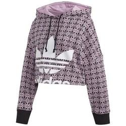 Textil Ženy Mikiny adidas Originals Aop Hoodie CR Černé, Růžové