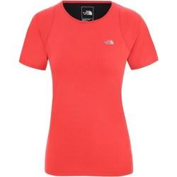 Textil Ženy Trička s krátkým rukávem The North Face Ambition Červené