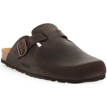 Boty Muži Pantofle Grunland MARRONE 40 SARA Marrone