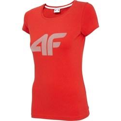 Textil Ženy Trička s krátkým rukávem 4F TSD005 Červené