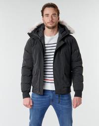 Textil Muži Prošívané bundy Casual Attitude NIFFO Černá