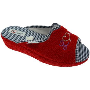 Boty Ženy Papuče Cristina CRIS24ros rosso