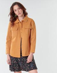 Textil Ženy Saka / Blejzry Betty London NISOI Zlatohnědá