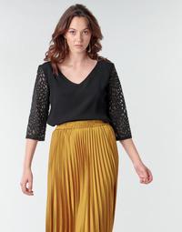 Textil Ženy Halenky / Blůzy Betty London NIXE Černá