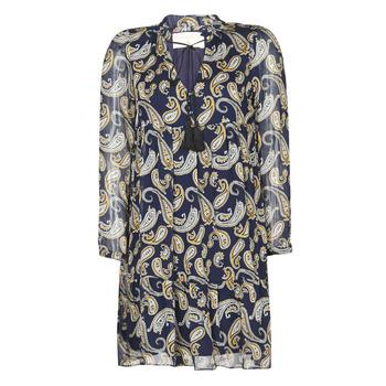 Textil Ženy Krátké šaty Moony Mood LONI Tmavě modrá