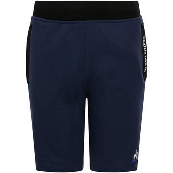 Textil Děti Kraťasy / Bermudy Le Coq Sportif Ess Short Regular N Modrá