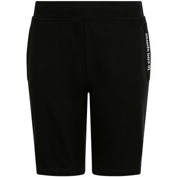 Textil Děti Kraťasy / Bermudy Le Coq Sportif Ess Short Regular N Černá