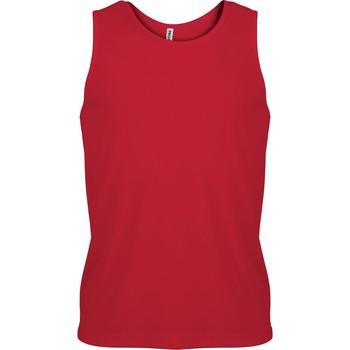 Textil Muži Tílka / Trička bez rukávů  Proact Débardeur  Sport rouge