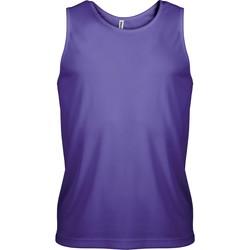 Textil Muži Tílka / Trička bez rukávů  Proact Débardeur  Sport violet