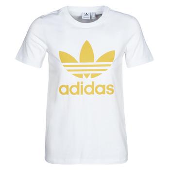 Textil Ženy Trička s krátkým rukávem adidas Originals TREFOIL TEE Bílá