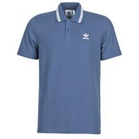 Textil Muži Polo s krátkými rukávy adidas Originals PIQUE POLO Modrá