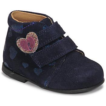Boty Dívčí Kotníkové boty Citrouille et Compagnie NONUP Tmavě modrá