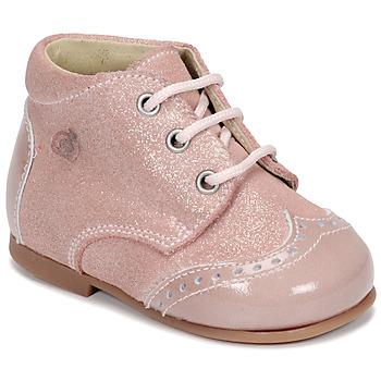 Boty Dívčí Kotníkové boty Citrouille et Compagnie NONUP Růžová