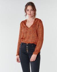 Textil Ženy Halenky / Blůzy Moony Mood NOUM Rezavá