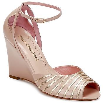 Boty Ženy Sandály Sarah Chofakian LA PARADE Růžová / Zlatá
