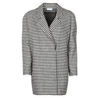 Textil Ženy Kabáty Betty London NIVER Černá / Bílá