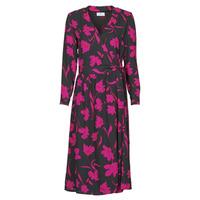 Textil Ženy Společenské šaty Betty London NOLIE Černá / Růžová