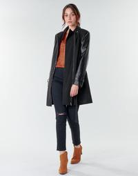 Textil Ženy Kabáty Moony Mood NOUMEA Černá