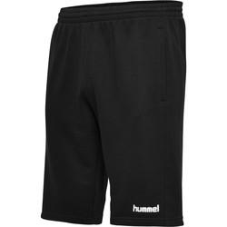 Textil Muži Kraťasy / Bermudy Hummel Short  hmlGO cotton noir