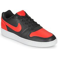Boty Muži Nízké tenisky Nike EBERNON LOW Černá / Červená