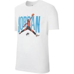 Textil Muži Trička s krátkým rukávem Nike Jordan Jumpman Photo Tee Bílé, Modré