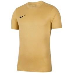 Textil Muži Trička s krátkým rukávem Nike Park Vii Béžové