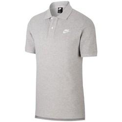 Textil Muži Polo s krátkými rukávy Nike Matchup Polo Šedé