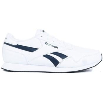 Boty Muži Nízké tenisky Reebok Sport Royal CL Jogger 3 Bílé, Tmavomodré