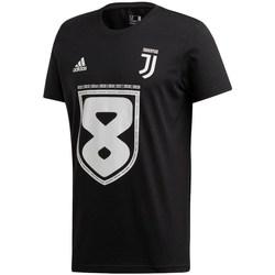 Textil Muži Trička s krátkým rukávem adidas Originals Juventus 19 Win Černé