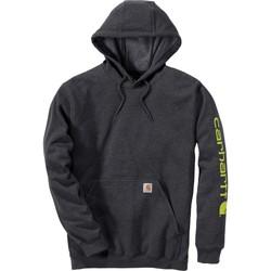 Textil Mikiny Carhartt Sweatshirt à capuche  Logo gris carbone