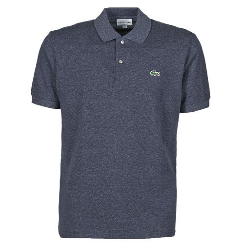 Textil Muži Polo s krátkými rukávy Lacoste POLO L12 12 CLASSIQUE Modrá