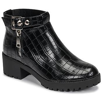 Boty Ženy Kotníkové boty Moony Mood NIETTE Černá