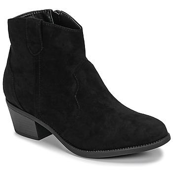 Boty Ženy Kotníkové boty Moony Mood NINITE Černá