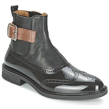 Kotnikove boty Vivienne Westwood BROGUE BOOT Černá 350x350